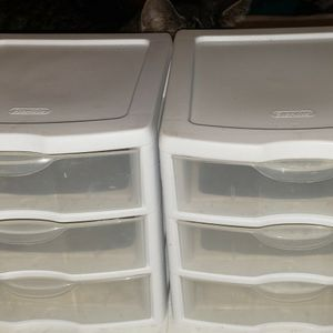 Sterilite 3-drawer Storage ×2 for Sale in Aloha, OR