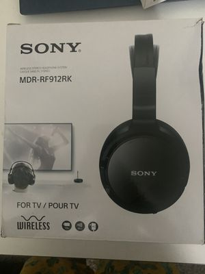 Sony wirelessTv headphones for Sale in Houston, TX