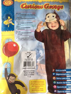 Curious George or Monkey costume for Sale in La Mirada, CA