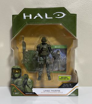 New Halo Infinite Series 1 UNSC Marine with Commando Rifle for Sale in Coconut Creek, FL
