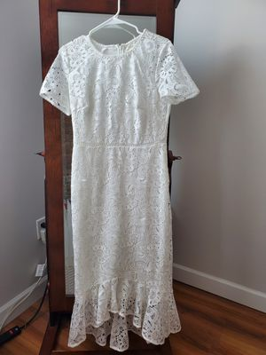 White Dress-Anthropologie for Sale in Union City, NJ