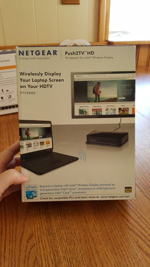 Wirelessly display your laptop on your HDTV for Sale in Lake City, MI