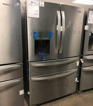 🌞NEW Whirlpool Stainless Steel 4 Door French Door Refrigerator..1 Year Manufacturer Warranty Included for Sale in Gilbert, AZ