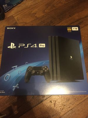 PS4 PRO with Madden 20 and NBA 2k20 for Sale in San Bernardino, CA
