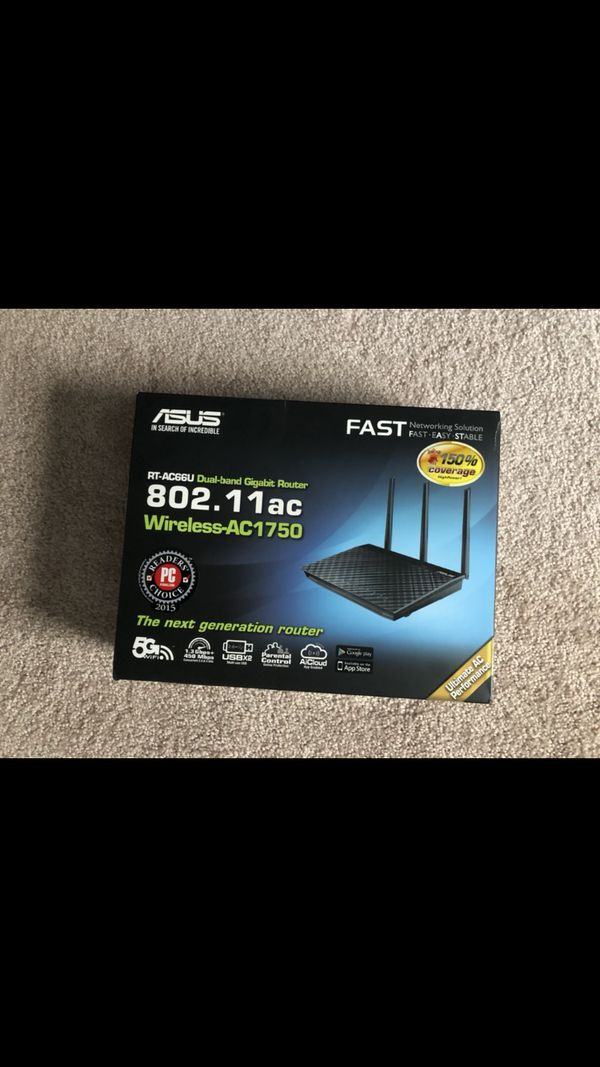 Asus AC1750 AC66U Dual Band Gigabit router