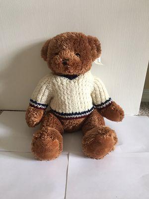 "Unipak 17"" Teddy Bear with Pretty Sweater (All New) for Sale in Auburn, WA"