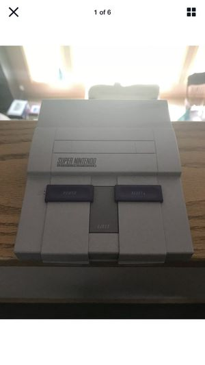 SNES Classic Edition (Authentic) for Sale in Norwich, CT