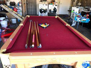 Billiard pool like new for Sale in Westminster, CA