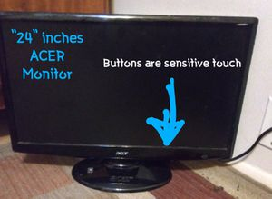 """""""24""""inch Acer TV/Monitor for Sale in Corsicana, TX"""