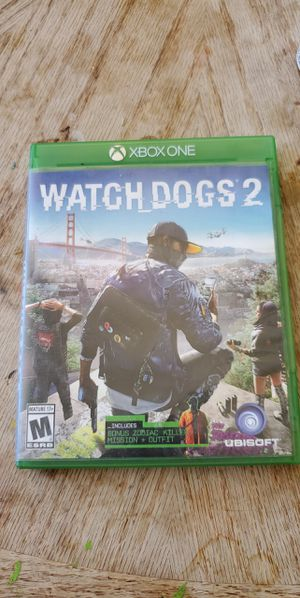 Watch Dogs 2 Xbox One for Sale in Riverside, CA