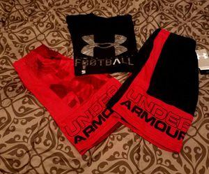 Boys 14 pc set UA, Adidas for Sale in Minocqua, WI