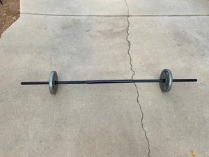 Weights and Bar for Sale in Redlands, CA