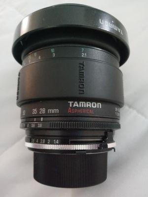 Tamron camera lens for Sale in Albuquerque, NM