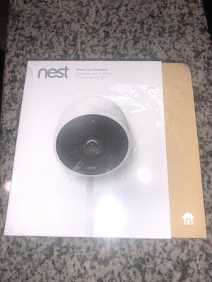 """Brand New Never Open"" Nest Cam Outdoor Smart Wi-Fi Security Camera. for Sale in Austin, TX"