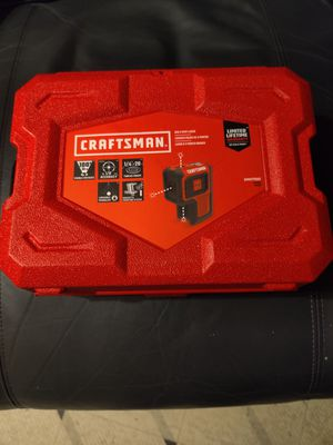 Craftsman 3 Red dot lazer for Sale in Tacoma, WA