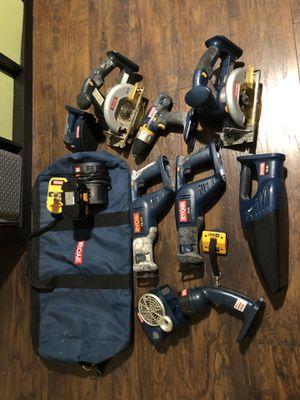 Ryobi battery power tools set for Sale in Boca Raton, FL