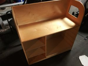 Kids desk or rolling storage piece for Sale in Tampa, FL
