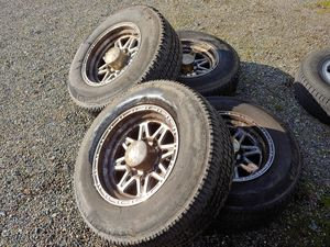 Dodge truck 8 lug wheels and tires. for Sale in Snohomish, WA