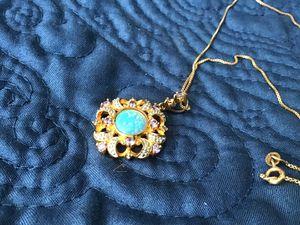 925 gemstone necklace for Sale in Sierra Vista, AZ