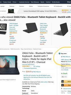 iPad mini keyboard folio for Sale in Haines City,  FL