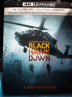 Black Hawk Down 4K Digital Code for Sale in Fall River, MA