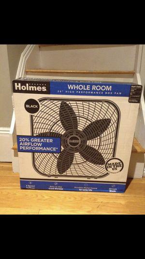 Brand new black box fan - still in box for Sale in Boston, MA