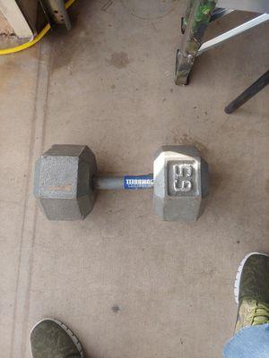65 lb dumbbell for Sale in Phoenix, AZ