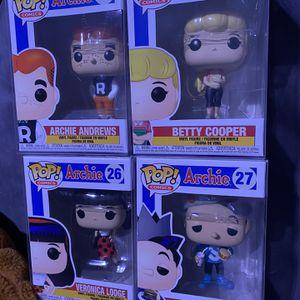 Archie Funko POPs for Sale in West Sacramento, CA