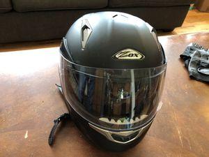 Zox Motorcycle Helmet (flip up sun visor) for Sale in Westminster, CO
