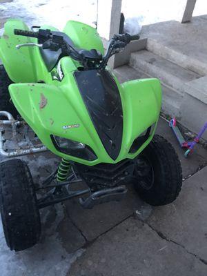 2007 Suzuki KFX 700CC for Sale in Denver, CO