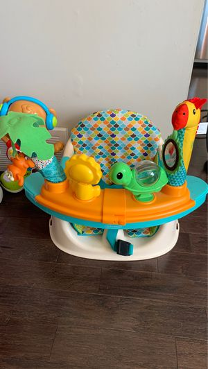 Kids chair with tray for Sale in Lancaster, NY