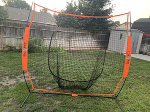 Bow Net with Carry Bag and SKLZ Hot Spot Bat 7ft for Sale in Fresno, CA