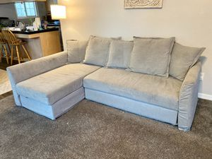 Small Sleeper Sectional Couch (Lightly used!). $500 OBO for Sale in San Diego, CA