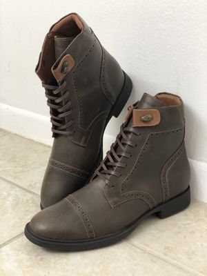 """Brand New Authentic Handcrafted """"LEO FRATTINI'S"""" Sneakers and Boots. REAL NATURAL FULL GRAIN LEATHER IN AND OUT. GET THEM IN 3 DAYS NATIONWIDE for Sale in Medina, TX"""