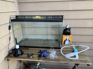 Aquarium Bundle (30 Gallon) Fish Tank + Accessories for Sale in Orlando, FL