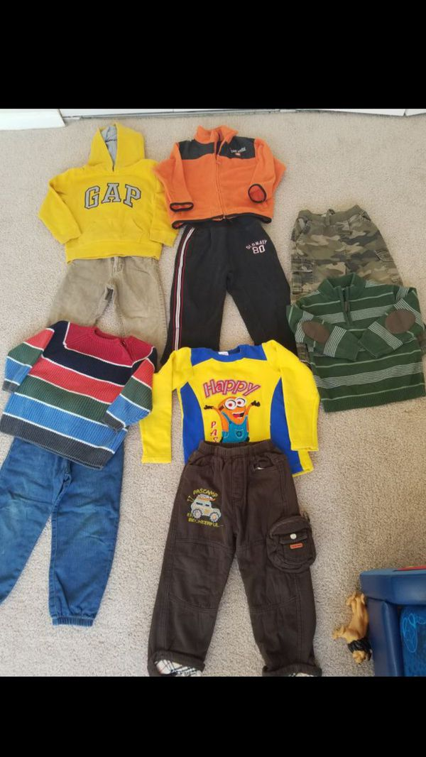 Boys 3 and 4 t clothes