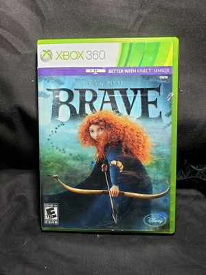 Microsoft XBox 360 pixar Brave game E10+ for Sale in Zanesville, OH