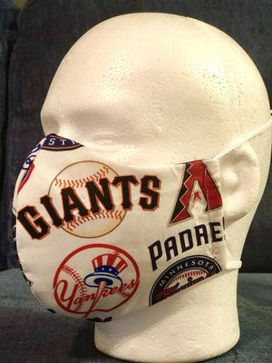 Handmade Masks MLB All Stars . 100% Cotton. Reusable. 3M Filter. 5 Layers of Protection and comfort. for Sale in Orlando, FL