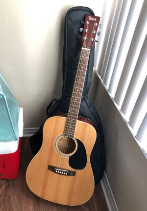Acoustic guitar and bag for Sale in Imperial Beach, CA