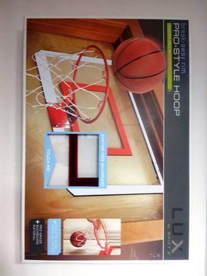 Pro Style Basketball Hoop Shatter Free Backboard Break Away Rim Door Mount for Sale in Orlando, FL