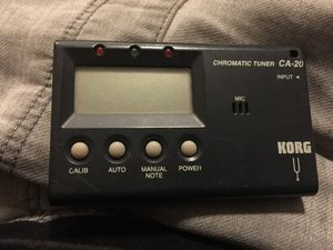 Korg CA-20 pocket chromatic tuner for Sale in Philadelphia, PA