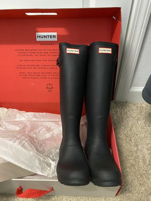 Hunter calf length rain boots for Sale in Riverview, FL