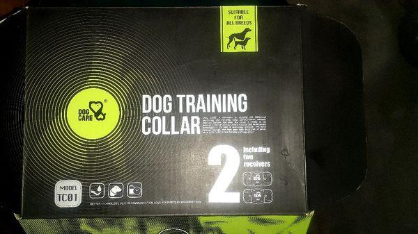 Dog care 2 collar training set