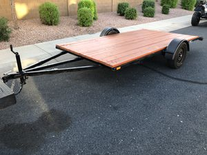 6x12 Flatbed Trailer for Sale in Goodyear, AZ