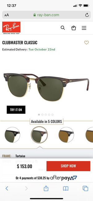 Rayband sunglasses for Sale in Indianapolis, IN