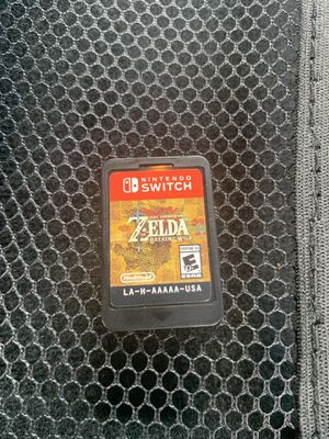 Zelda Breathe of the Wild for Sale in Houston, TX