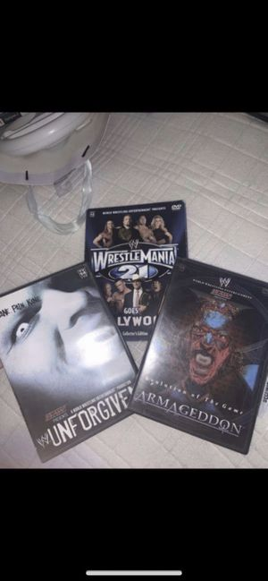 Wwe wrestling movies for Sale in Los Angeles, CA
