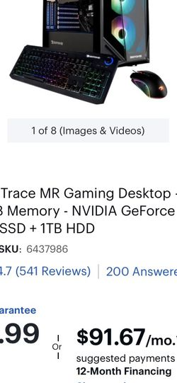 i7 Gaming Computer for Sale in Graham,  WA