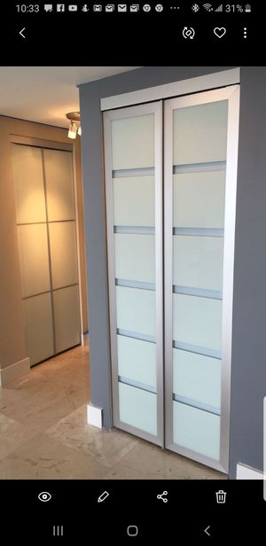 Glass interior Doors!!! Custom made for Sale in Sunrise, FL