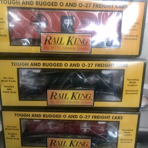 Rail King freight trains New 4 Available $40 for Sale in Los Angeles, CA